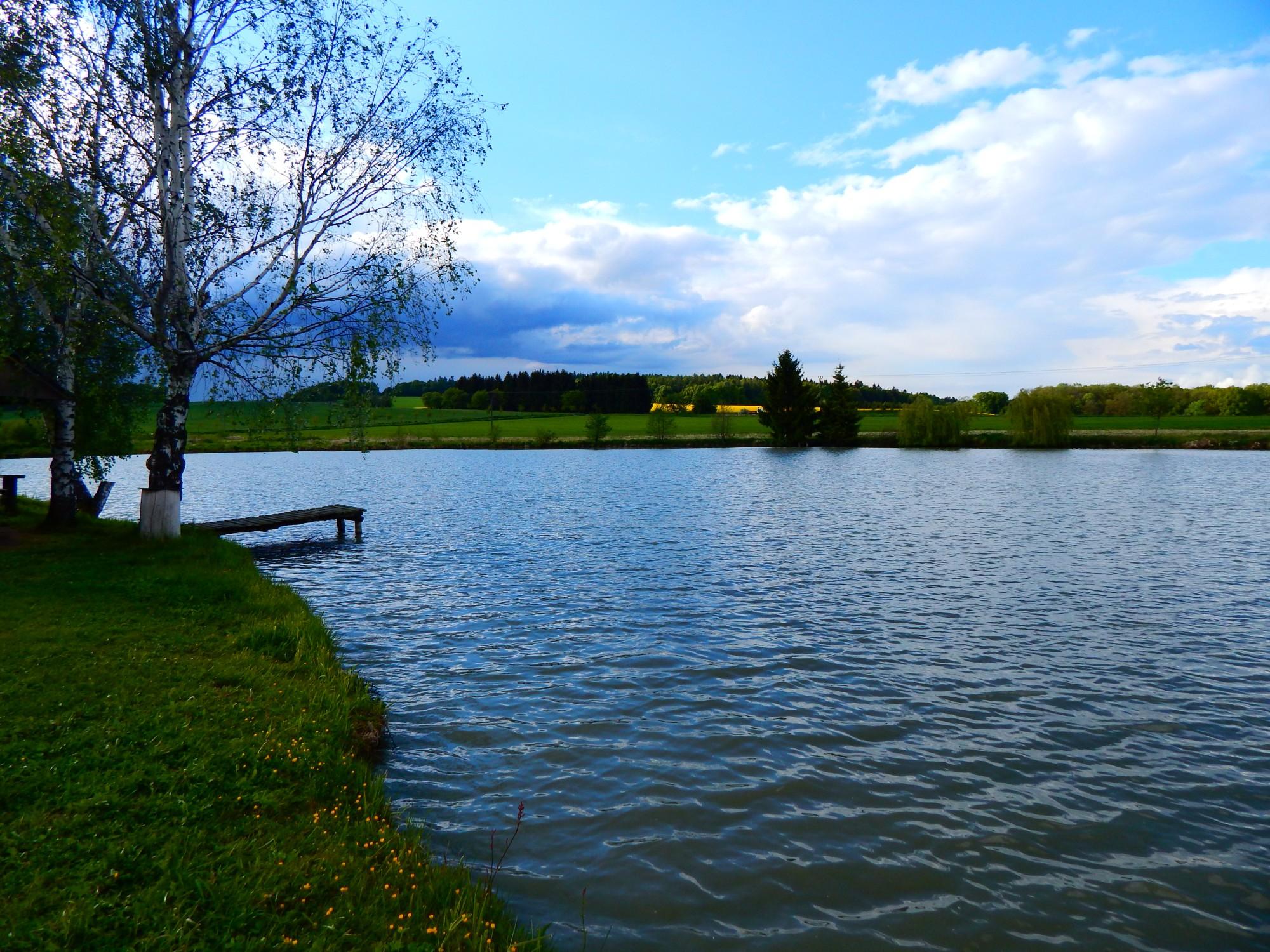 Rybník u Jána, možnost zakoupení jednorázové povolenky pro rybaření